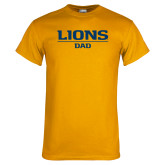 Gold T Shirt-Lions Dad