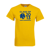 Gold T Shirt-Stacked Class Of Design