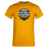 Gold T Shirt-2017 National Champions