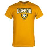 Gold T Shirt-2017 National Football Champions