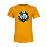 Youth Gold T Shirt-2017 National Champions