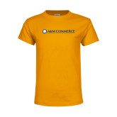 Youth Gold T Shirt-AM Commerce