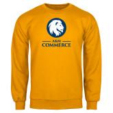 Gold Fleece Crew-Mascot AM Commerce