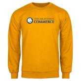 Gold Fleece Crew-Texas A&M University Commerce