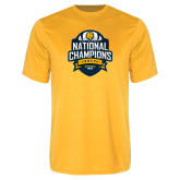 Performance Gold Tee-2017 National Champions