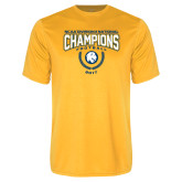 Performance Gold Tee-2017 National Football Champions