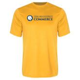Performance Gold Tee-Texas A&M University Commerce