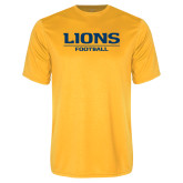 Performance Gold Tee-Lions Football