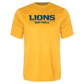 Performance Gold Tee-Lions Softball