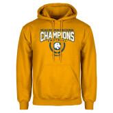 Gold Fleece Hoodie-2017 National Football Champions