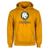 Gold Fleece Hoodie-Mascot AM Commerce