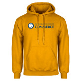 Gold Fleece Hoodie-Texas A&M University Commerce