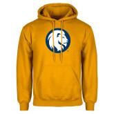 Gold Fleece Hoodie-Mascot Logo