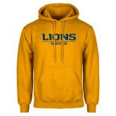 Gold Fleece Hoodie-Lions Soccer