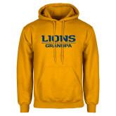 Gold Fleece Hoodie-Lions Grandpa