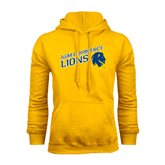 Gold Fleece Hoodie-Angled A&M Commerce Lions