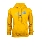 Gold Fleece Hoodie-Angled Lets Go Lions