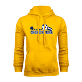Gold Fleece Hoodie-Soccer Swoosh