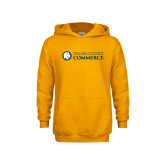 Youth Gold Fleece Hoodie-Texas A&M University Commerce