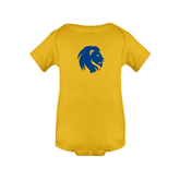 Gold Infant Onesie-Official Logo