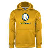 Under Armour Gold Performance Sweats Team Hoodie-Mascot AM Commerce