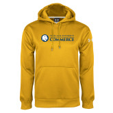 Under Armour Gold Performance Sweats Team Hoodie-Texas A&M University Commerce