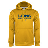 Under Armour Gold Performance Sweats Team Hoodie-Lions Cross Country