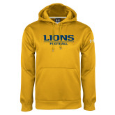 Under Armour Gold Performance Sweats Team Hoodie-Lions Football