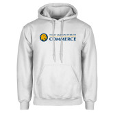 White Fleece Hoodie-Texas A&M University Commerce