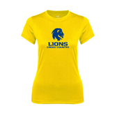 Ladies Syntrel Performance Gold Tee-Cross Country