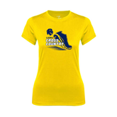 Ladies Syntrel Performance Gold Tee-Cross Country Shoe Design