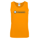 Gold Tank Top-Texas A&M University Commerce