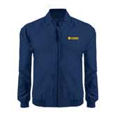 Navy Players Jacket-Flat A&M Commerce Lions
