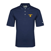 Under Armour Navy Performance Polo-Stacked Lions with Head