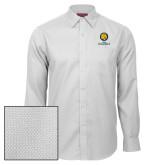Red House White Diamond Dobby Long Sleeve Shirt-Mascot AM Commerce