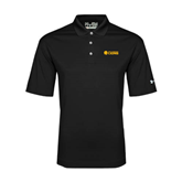 Under Armour Black Performance Polo-Flat A&M Commerce Lions