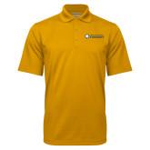 Gold Mini Stripe Polo-Texas A&M University Commerce