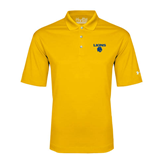 Under Armour Gold Performance Polo-Stacked Lions with Head