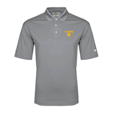 Under Armour Graphite Performance Polo-Stacked Lions with Head