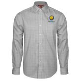 Red House Grey Plaid Long Sleeve Shirt-Mascot AM Commerce