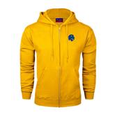 Champion Gold Fleece Full Zip Hood-Official Logo