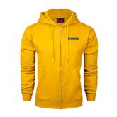 Champion Gold Fleece Full Zip Hood-Flat A&M Commerce Lions