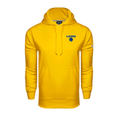 Under Armour Gold Performance Sweats Team Hoodie-Stacked Lions with Head