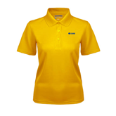 Ladies Gold Dry Mesh Polo-Flat A&M Commerce Lions