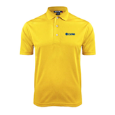 Gold Dry Mesh Polo-Flat A&M Commerce Lions