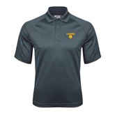 Charcoal Dri Mesh Pro Polo-Stacked Lions with Head