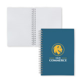 Clear 7 x 10 Spiral Journal Notebook-Mascot AM Commerce