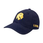 Navy OttoFlex Unstructured Low Profile Hat-Official Logo