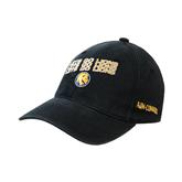 Black OttoFlex Unstructured Low Profile Hat-Angled Lets Go Lions
