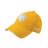 Gold OttoFlex Unstructured Low Profile Hat-Official Logo